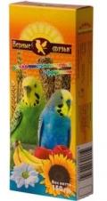 Верные друзья - лакомство для волнистых попугаев палочки с фруктами (150 г)