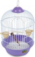 Triol - Клетка для птиц круглая укомплектованная эмаль (23A)