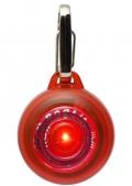 Rogz - Светящаяся подвеска на ошейник, красная
