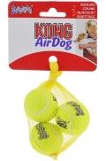 """Kong Air - игрушка для собак """"Теннисный мяч"""" очень маленький (3 шт. по 4 см)"""