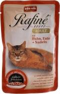 Animonda Rafine Adult - консервы для кошек с курицей, уткой и пастой (100 г)