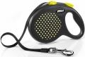 Flexi Design - рулетка L (до 50 кг) 5 м лента, горох (черный/желтый)
