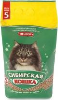"""Сибирская кошка - наполнитель древесный впитывающий """"Лесной"""""""