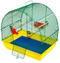 """Дарэлл - Клетка для птиц """"Юлия"""" укомплектованная (41 x 30 x 40 см) разборная, в коробке"""