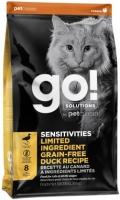Go! Solutions Sensitivities - сухой беззерновой корм для котят и кошек с чувствительным пищеварением со свежей уткой