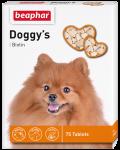 Beaphar Doggy`s + Biotin - Беафар витаминизированное лакомство для собак (75 таб.)