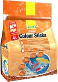 Tetra Pond Color Sticks - корм для прудовых рыб палочки для окраски (4 л)