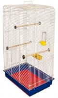"""Дарэлл - Клетка для птиц """"Луиза"""" укомплектованная (41 x 30 x 76 см) разборная, в коробке"""