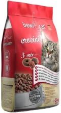 "Bewi Cat - сухой корм для кошек ""3 вида крокет"" (курица, индейка, рыба)"