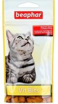 Beaphar Vit Bits - Беафар лакомство подушечки для кошек с витаминной пастой (35 г)