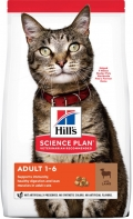 Hill`s Science Plan Adult - сухой корм для взрослых кошек с ягненком