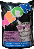 Neon Litter - наполнитель силикагелевый комкующийся (1,8 кг) фиолетовый