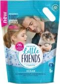 "Little Friends - наполнитель силикагелевый впитывающий ""Океан"" (5 л)"