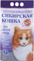 """Сибирская кошка - наполнитель комкующийся """"Прима"""" (5 л)"""