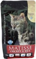 Matisse Chicken & Rice - корм для взрослых кошек с курицей и рисом