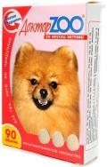Доктор Zoo - мультивитаминное лакомство для собак со вкусом ветчины (90 таб.)