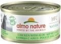 """Almo Nature HFC Natural - консервы для кошек """"Курица с алоэ"""" низкокалорийные (70 г)"""