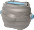 Imac Easy Go - контейнер с герметичной крышкой для корма и воды (1,5 л) бежево-серый