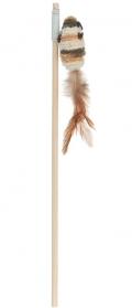 Уют - игрушка для кошек дразнилка-удочка, Мышка, сизаль (48 см)