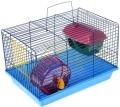 Зоомарк - Клетка для грызунов 2-х этажная, комплект (125ж)