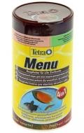 """Tetra Menu - корм для всех видов рыб """"4 вида"""" мелких хлопьев (250 мл)"""