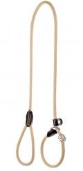 Hunter - ринговка для собак Freestyle (8 мм, 170 см) нейлоновая стропа бежевая