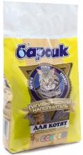 Барсик - наполнитель глиняный впитывающий для котят (4,54 л)
