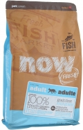 Now Fresh Adult Cat Fish Grain Free - сухой беззерновой корм с форелью и лососем для кошек с чувствительным пищеварением