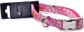 Papillon Nylon collar Hula Hula - нейлоновый ошейник с рисунком, розовый