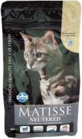 Matisse Neutered - сухой корм для кастрированных и стерилизованных кошек