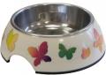 """Super Design - миска на меламиновой подставке """"Бабочки"""" (160 мл)"""