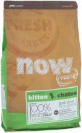 Now Fresh Kitten Grain Free - сухой беззерновой корм для котят с индейкой, уткой и овощами