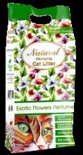 """Indian Cat Litter - комкующийся наполнитель """"Экзотические цветы"""""""