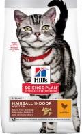 Hill`s Science Plan Indoor - сухой корм для взрослых кошек, ведущих домашний образ жизни