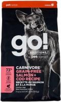 Go! Solutions Carnivore - сухой беззерновой корм для щенков и собак c лососем и треской