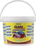 Tetra Cichlid Colour Mini - корм для всех видов цихлид для улучшения окраса (10 л ведро)