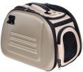 Ibiyaya - складная сумка-переноска для собак и кошек до 6 кг (бежевая)
