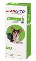 Бравекто капли спот-он от блох и клещей для собак 10 - 20 кг (500 мг)