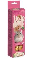 Little One - Палочки для хомяков, крыс, мышей и песчанок с воздушным рисом и орехами (2 по 55 г)