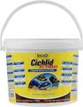 Tetra Cichlid XL - корм для всех видов цихлид, крупные хлопья (10 л)