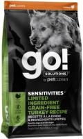 Go! Solutions Sensitivities - сухой беззерновой корм для щенков и собак с чувствительным пищеварением с индейкой