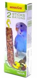 Benelux Sticks budgies - Лакомые палочки для волнистых попугайчиков с тропическими фруктами (2 шт.)