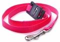 Papillon Nylon lead - нейлоновый поводок, розовый