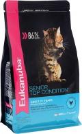 Eukanuba Cat Senior - сухой корм для пожилых кошек с домашней птицей