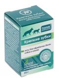 """Пчелодар - гель для обработки десен собак и кошек """"Крепкие зубки"""" (25 г)"""