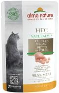 "Almo Nature Natural Plus - паучи для кошек ""Куриная грудка"" (55 г)"