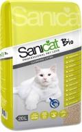 "Sani Cat - наполнитель комкующийся ""Bio"" (20 л)"