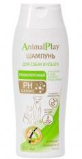 Animal Play - шампунь для кошек и собак гипоаллергенный (250 мл)