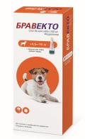 Бравекто капли спот-он от блох и клещей для собак 4,5 - 10 кг (250 мг)