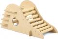 Гамма - Домик-горка для грызунов деревянный (21 x 10,5 x 10,5 см)
